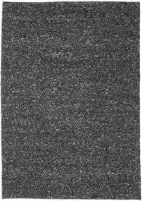Bubbles - Melange Sort Tæppe 170X240 Moderne Mørkegrå (Uld, Indien)