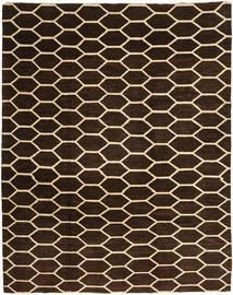 Loribaft Persia Tæppe 228X281 Ægte Moderne Håndknyttet Mørkebrun/Beige (Uld, Persien/Iran)