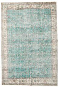 Taspinar Tæppe 207X300 Ægte Orientalsk Håndknyttet Lysegrå/Turkis Blå (Uld, Tyrkiet)