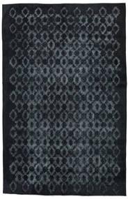 Colored Vintage Relief Tæppe 211X327 Ægte Moderne Håndknyttet Mørkeblå/Mørkegrå (Uld, Tyrkiet)