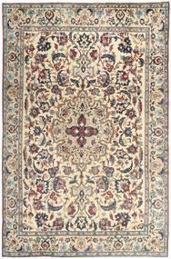 Yazd Patina Tæppe 237X365 Ægte Orientalsk Håndknyttet Lysegrå/Beige (Uld, Persien/Iran)