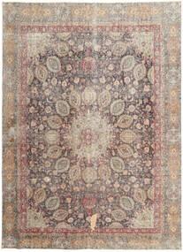 Colored Vintage Tæppe 262X358 Ægte Moderne Håndknyttet Lysegrå/Lysebrun Stort (Uld, Persien/Iran)
