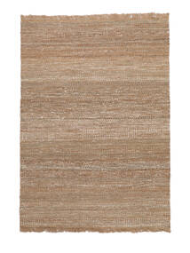 Sahara Jute Tæppe 170X240 Ægte Moderne Håndvævet Lysegrå/Beige ( Indien)