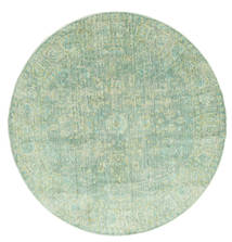 Maharani - Grøn Tæppe Ø 150 Moderne Rundt Pastel Grøn ( Tyrkiet)