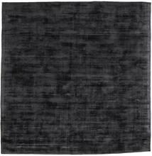 Tribeca - Kulgrå Tæppe 250X250 Moderne Kvadratisk Mørkegrå Stort ( Indien)