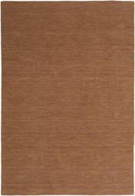 Kelim Loom - Brun Tæppe 200X300 Ægte Moderne Håndvævet Brun (Uld, Indien)