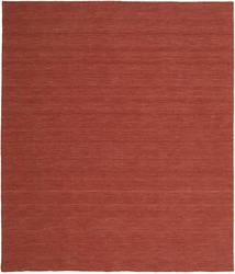 Kelim Loom - Rust Tæppe 250X300 Ægte Moderne Håndvævet Mørkerød Stort (Uld, Indien)