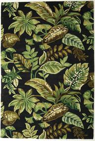 Jungel - Grøn/Sort Tæppe 200X300 Moderne Mørkegrøn/Olivengrøn (Uld, Indien)