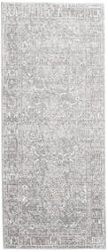 Maharani - Grå Tæppe 80X200 Moderne Tæppeløber Lysegrå/Hvid/Creme ( Tyrkiet)