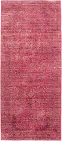Maharani - Rød Tæppe 80X200 Moderne Tæppeløber Rust/Rosa ( Tyrkiet)