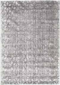 Diamond - Blød Grå Tæppe 160X230 Moderne Lysegrå ( Indien)