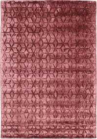 Diamond - Burgundy Tæppe 160X230 Moderne Mørkerød/Rust ( Indien)