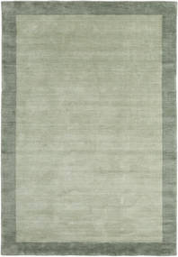 Handloom Frame - Grå/Grøn Tæppe 160X230 Moderne Lysgrøn/Pastel Grøn (Uld, Indien)