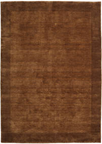 Handloom Frame - Brun Tæppe 160X230 Moderne Brun/Mørkebrun (Uld, Indien)