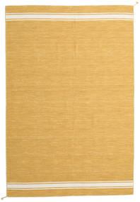 Ernst - Sennep/Råhvid Tæppe 200X300 Ægte Moderne Håndvævet Lysebrun/Mørk Beige (Uld, Indien)