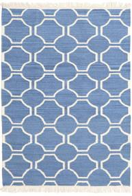 London - Blå/Råhvid Tæppe 160X230 Ægte Moderne Håndvævet Blå/Beige (Uld, Indien)