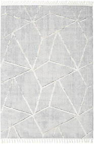 Scandic Tæppe 300X400 Moderne Lysegrå/Hvid/Creme Stort ( Tyrkiet)