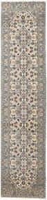 Keshan Patina Tæppe 94X408 Ægte Orientalsk Håndknyttet Tæppeløber Lysegrå/Mørkegrå (Uld, Persien/Iran)