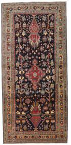 Ardebil Patina Tæppe 133X284 Ægte Orientalsk Håndknyttet Tæppeløber Mørkebrun/Mørkerød (Uld, Persien/Iran)