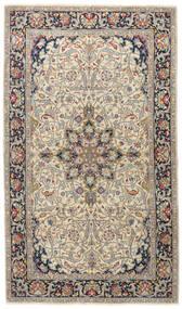 Kerman Patina Tæppe 116X200 Ægte Orientalsk Håndknyttet Lysegrå/Mørkegrå (Uld, Persien/Iran)