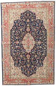 Kerman Patina Tæppe 149X236 Ægte Orientalsk Håndknyttet Mørkelilla/Mørkerød (Uld, Persien/Iran)