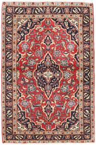 Keshan Patina Tæppe 98X150 Ægte Orientalsk Håndknyttet Mørkegrå/Mørkerød (Uld, Persien/Iran)