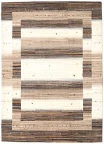Gabbeh Loribaft Tæppe 174X243 Ægte Moderne Håndknyttet Beige/Mørkebrun (Uld, Indien)