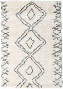 Berber Shaggy Massin Tæppe 120X170 Moderne Beige/Lysegrå/Mørk Beige ( Tyrkiet)