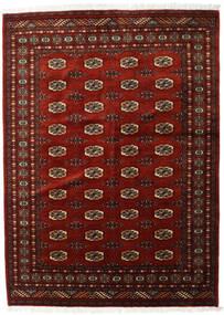 Pakistan Bokhara 3Ply Tæppe 142X196 Ægte Orientalsk Håndknyttet Mørkerød/Mørkebrun (Uld, Pakistan)