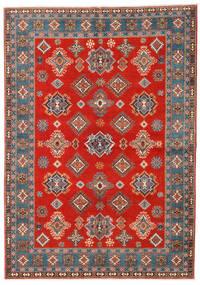 Kazak Tæppe 169X238 Ægte Orientalsk Håndknyttet Rust/Lysebrun (Uld, Afghanistan)