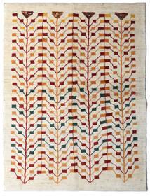 Gabbeh Persia Tæppe 151X198 Ægte Moderne Håndknyttet Beige/Lysegrå (Uld, Persien/Iran)