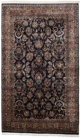 Keshan Indisk Tæppe 186X310 Ægte Orientalsk Håndknyttet Sort/Mørkebrun (Uld, Indien)