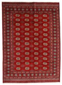 Pakistan Bokhara 3Ply Tæppe 174X240 Ægte Orientalsk Håndknyttet Mørkerød/Rust (Uld, Pakistan)