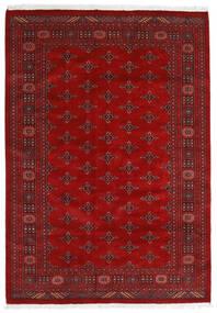 Pakistan Bokhara 3Ply Tæppe 169X240 Ægte Orientalsk Håndknyttet Rust/Mørkerød (Uld, Pakistan)