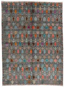 Moroccan Berber - Afghanistan Tæppe 170X240 Ægte Moderne Håndknyttet Mørkegrå/Lysegrå (Uld, Afghanistan)