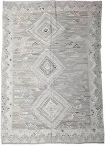 Kelim Ariana Tæppe 256X357 Ægte Moderne Håndvævet Lysegrå Stort (Uld, Afghanistan)