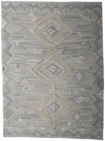 Kelim Ariana Tæppe 259X339 Ægte Moderne Håndvævet Lysegrå/Mørkegrå Stort (Uld, Afghanistan)