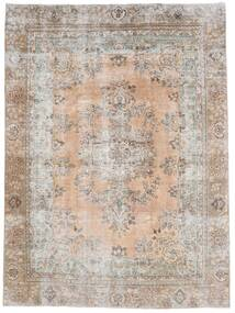 Vintage Heritage Tæppe 232X315 Ægte Moderne Håndknyttet Lysegrå/Mørkebrun (Uld, Persien/Iran)