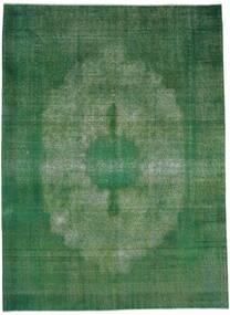 Vintage Heritage Tæppe 238X322 Ægte Moderne Håndknyttet Mørkegrøn/Mørkegrøn (Uld, Persien/Iran)