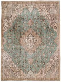 Vintage Heritage Tæppe 235X312 Ægte Moderne Håndknyttet Lysegrå/Lysebrun (Uld, Persien/Iran)