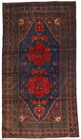 Beluch Tæppe 120X205 Ægte Orientalsk Håndknyttet Mørkeblå/Mørkebrun (Uld, Afghanistan)