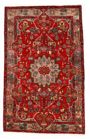 Nahavand Old Tæppe 160X258 Ægte Orientalsk Håndknyttet Rust/Mørkebrun (Uld, Persien/Iran)