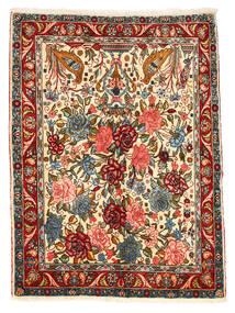 Bakhtiar Collectible Tæppe 101X148 Ægte Orientalsk Håndknyttet Mørkegrå/Rød (Uld, Persien/Iran)