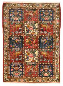 Bakhtiar Collectible Tæppe 115X155 Ægte Orientalsk Håndknyttet Mørkebrun/Rød (Uld, Persien/Iran)