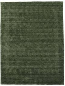 Handloom Gabba - Skovgrøn Tæppe 210X290 Moderne Mørkegrøn (Uld, Indien)