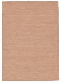 Kelim Loom - Dusty Rose Tæppe 160X230 Ægte Moderne Håndvævet Rød/Lyserød (Uld, Indien)