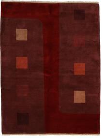 Gabbeh Indisk Tæppe 174X229 Ægte Moderne Håndknyttet Mørkerød/Mørkebrun (Uld, Indien)