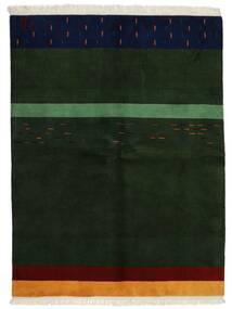 Gabbeh Indisk Tæppe 172X226 Ægte Moderne Håndknyttet Mørkegrøn (Uld, Indien)