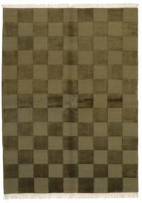 Gabbeh Indisk Tæppe 172X235 Ægte Moderne Håndknyttet Olivengrøn/Mørkegrøn (Uld, Indien)