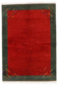 Gabbeh Indisk Tæppe 170X238 Ægte Moderne Håndknyttet Rust/Mørkegrøn (Uld, Indien)